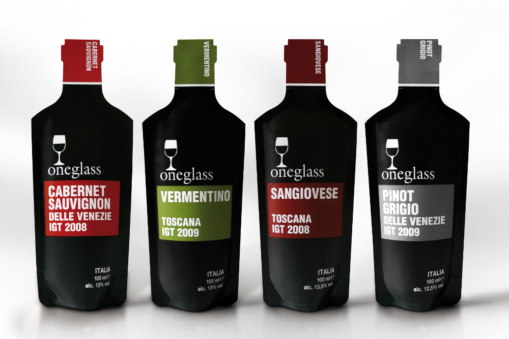 Oneglass4 ONEGLASS: INNOVATIVE POUCH CONCEPT FOR WINE