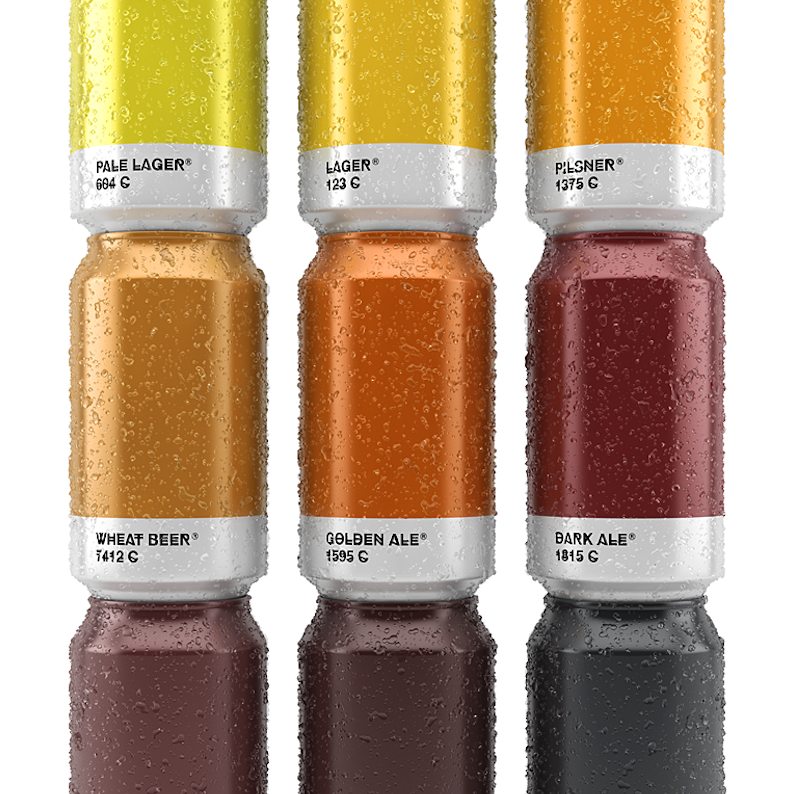 Beer (Pantone) colors