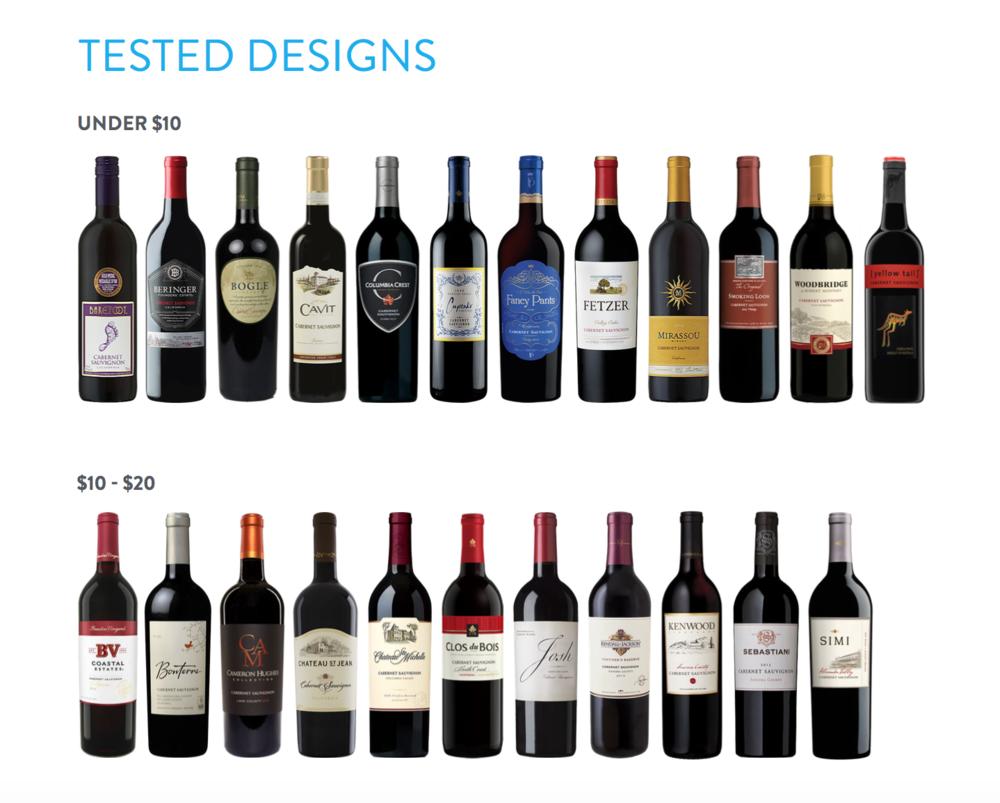 Popolare In USA il vino viene scelto in base al design dell'etichetta  MD52